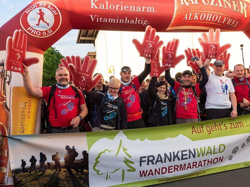 Am-Start-beim-FRANKENWALD-WANDERMARATHON_Bildrechte-Frankenwald-Tourismus--Maximilian-Grger